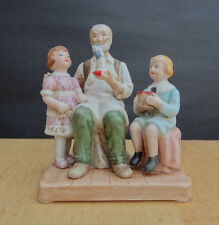 Norman Rockwell Museum The Toymaker Figurine with Box Nice!