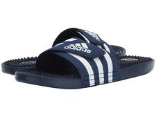 NWT ADIDAS Authentic Adissage Summer Men's Navy Slip On Slides Sandals Size 10