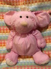 Fisher Price Puffalump Pink Dog Plush 1986 Vintage #8003