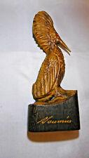 sculpture oiseau a huppe nouméa