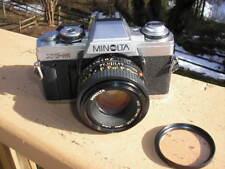 Minolta XG-1 Camera with Minolta MD 50mm 1/1.7 Lens & Vivitar 49mm UV Haze Lens