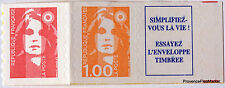 Francia - 3009 2 sellos nuevos con viñeta Marianne bicentenario Ca105