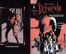 MIKE MIGNOLA ART DRACULA #1 ORIGINAL COMIC COVER PRODUCTION PROOF 1992 TOPPS