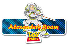 Toy Story Personalised Name Plate/Door Sticker