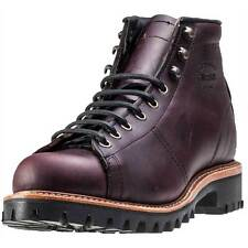 """Chippewa Boots MEN'S 5"""" CORDOVAN LACE-TO-TOE FIELD BOOTS Leather USA  12 E"""