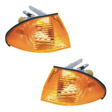 PAIR Corner Light Turn Signal Lamp - Driver & Passenger Side -Fits BMW E46 Sedan