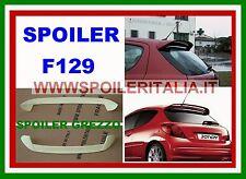 SPOILER ALETTONE LUNOTTO PEUGEOT 207 3/5 PORTE CON PRIMER  F129P SI129-5