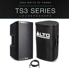 "Alto TS310 10"" 2000W Powered Active PA Speaker or Stage Monitor + Cover + Lead"