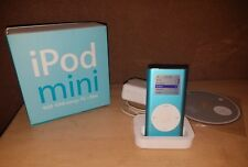 Apple iPod Mini 2nd Generation Light Blue 4 GB A1051 491 songs