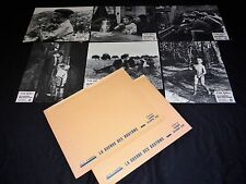 LA GUERRE DES BOUTONS !  Yves Robert   jeu 12 photos cinema lobby cards 1961