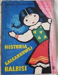 HISTORIA GALGANKOWEJ BALBISI Janina Broniewska   Paperback 1975   antykwariat