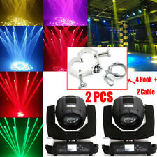 2x PRO BEAM 230 Moving Head Light ROTANTE LAMPADA 7r Club DJ Discoteca 8+16Prism