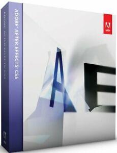 Adobe After Effects CS5 Full Version Windows German Vat Box