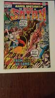 Marvel Spotlight No.12,13 &14 Son of Satan     1973    Marvel  3 Book Lot