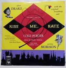 COLE PORTER - vintage vinyl LP - Kiss Me Kate - Original Broadway Cast