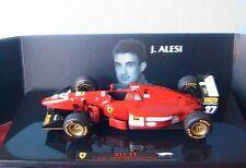 FERRARI 412 T1 JEAN ALESI GREAT BRITAIN F1 GP 1994 HOTWHEELS ELITE 1/43 MATTEL
