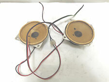 1984  Mercedes w123  240D 300D 230e 280e FRONT DASH SPEAKERS PAIR