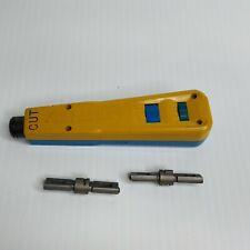 Harris Hd-8762/ D-814 Impact Tool Punch Down Cutting Tool