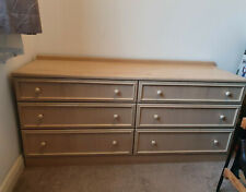 Chest of drawers, BEIGE, USED but in good condition.Collection only.