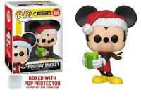 Funko POP! Disney: Mickey's 90th - Holiday Mickey #455 Collectible Figure w case