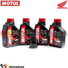 TAGLIANDO OLIO + FILTRO MOTUL 7100 10W40 4L HONDA 1000 XL VA VARADERO ABS 2006