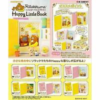 RE-MENT Rilakkuma Happy Little Book 6pcs Complete Set BOX w/ Tracking NEW