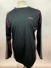 Marmot Athletic Black Shirt Top Performance Long Sleeve Mens Size XL Extra Large