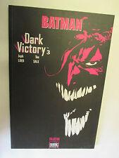 Jeph Loeb & Tim Sale Batman Dark Victory Numéro 3 /Collection Semic Books 2003