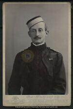Vintage Lieut Col Anglo-Boer War Wepener E. H. Dalgety Cabinet Card Photo c 1900
