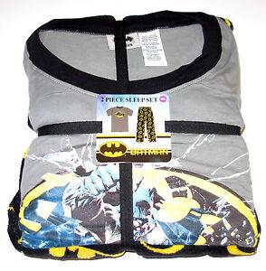 Batman 2pc Set Pyjama Homme Taille S Ou M, Neuf W/Étiquettes