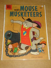 MOUSE MUSKETEERS #14 VG (4.0) TOM AND JERRY MGM DELL COMICS SEPTEMBER 1958