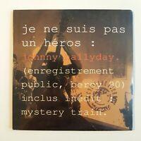 "JOHNNY HALLYDAY ♦ CD NEUF SOUS BLISTER ♦ A BERCY ""JE NE SUIS PAS UN HEROS"""