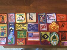 25.   -  VINTAGE - GIRL SCOUT - EVENT PATCHES - - see photos