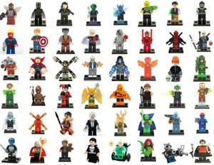 Minifigure Marvel DC Spider Man Joker Avengers Batman Mini Figure