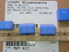 [4 pcs] MKP417 1uF 1000nF 160V 2% polypropylene Capacitors VISHAY-BCcomp