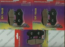 Hyosung Disc Brake Pads GT650/GT650R/GT650S/GT650X 2005-14 Front & Rear (3 sets)