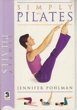 Vhs * Simply Pilates * Jennifer Pohlman Floor Exercise & Posture Awareness Video