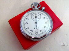 AGAT STOPWATCH USSR vintage mechanical with box