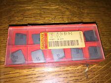 SANDVIK CARBIDE INSERTS SNEX 15 04 EN N-1 53E12 H1P K10  QUANTITY 26