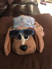"Pound Puppies HAWAIIAN HAWAII PUPPY DOG 13"" Plush STUFFED ANIMAL Toy Mattel"
