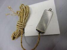 elektr. Art Deco Tischklingelknopf Silber 835 Franz Johann Junior punziert