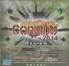 CD - Invasion Del Corrido 2014 NEW Calibre 50 Banda Carnaval FAST SHIPPING !