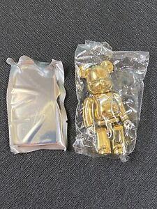 Bearbrick Series 42 20th Anniversary Secret Gold Hajime Sorayama 100% NEW