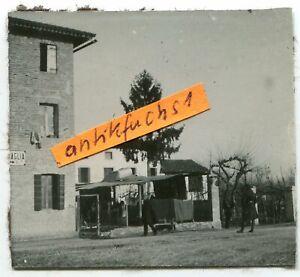 Foto - 3 :  Deutsche Truppen in Azzano-Deccimo in Italien im 1.WK