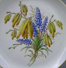 NP 1.335,-- € GUSCIO parete ø17, 8cm fiore natura tavolo di ali 1. scelta Meissen Piatto Top