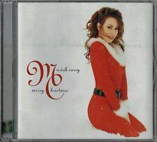 MARIAH CAREY - CD - Merry Christmas (14 Tracks)  + Fold out Lyrics.  Columbia