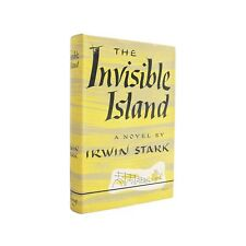 The Invisible Island - first edition novel of Harlem from 1948 with dust jacket
