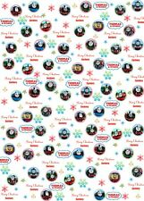 Personalised Thomas and friends Christmas Wrapping Paper A1 size!