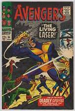 L1772: The Avengers #34, Vol 1, VF Condition