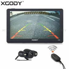 XGODY 8GB 7 Zoll Auto PKW GPS Navi Navigationsgerät Drahtlose Rückfahrkamera BT